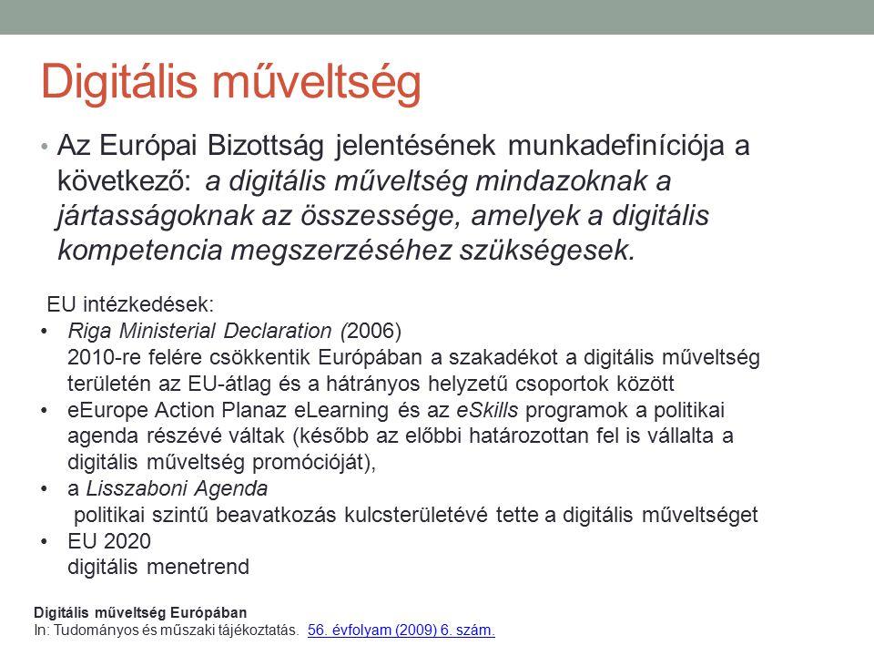 Digitális műveltség
