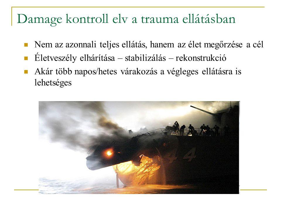 Damage kontroll elv a trauma ellátásban