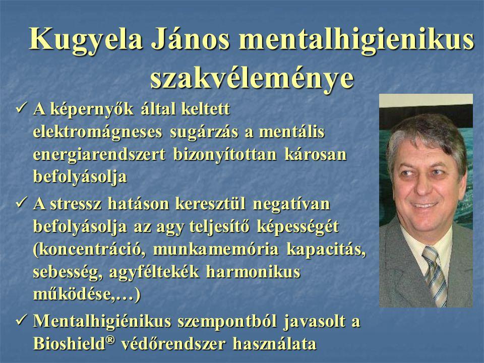 Kugyela János mentalhigienikus szakvéleménye