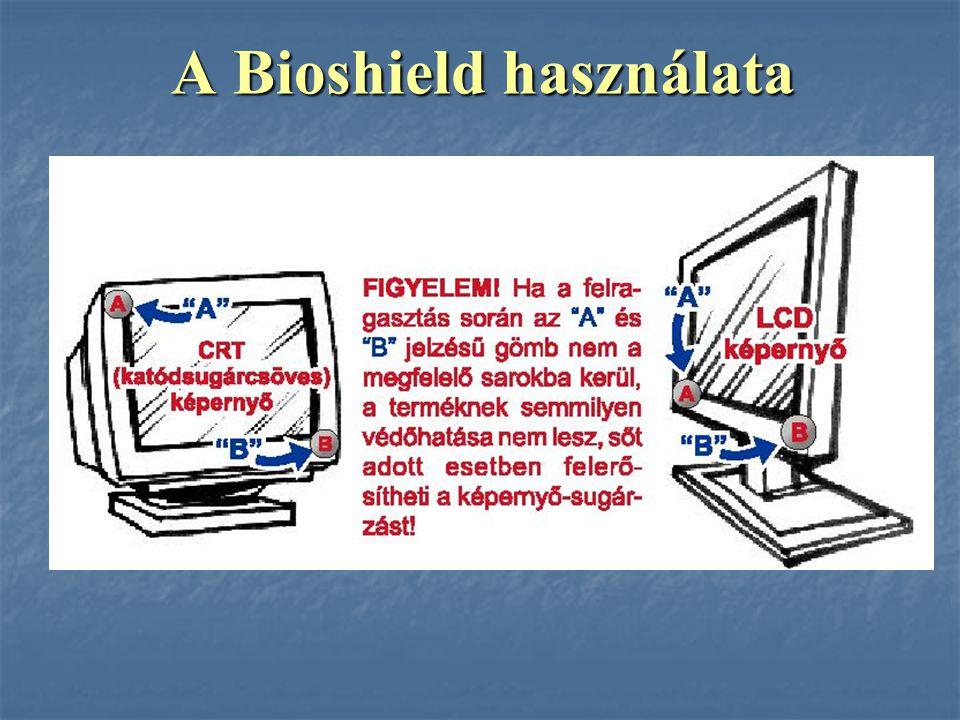 A Bioshield használata