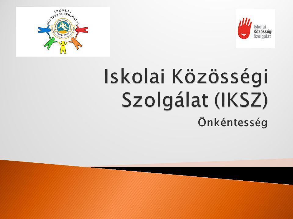 Iskolai Közösségi Szolgálat (IKSZ)