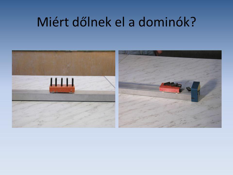 Miért dőlnek el a dominók