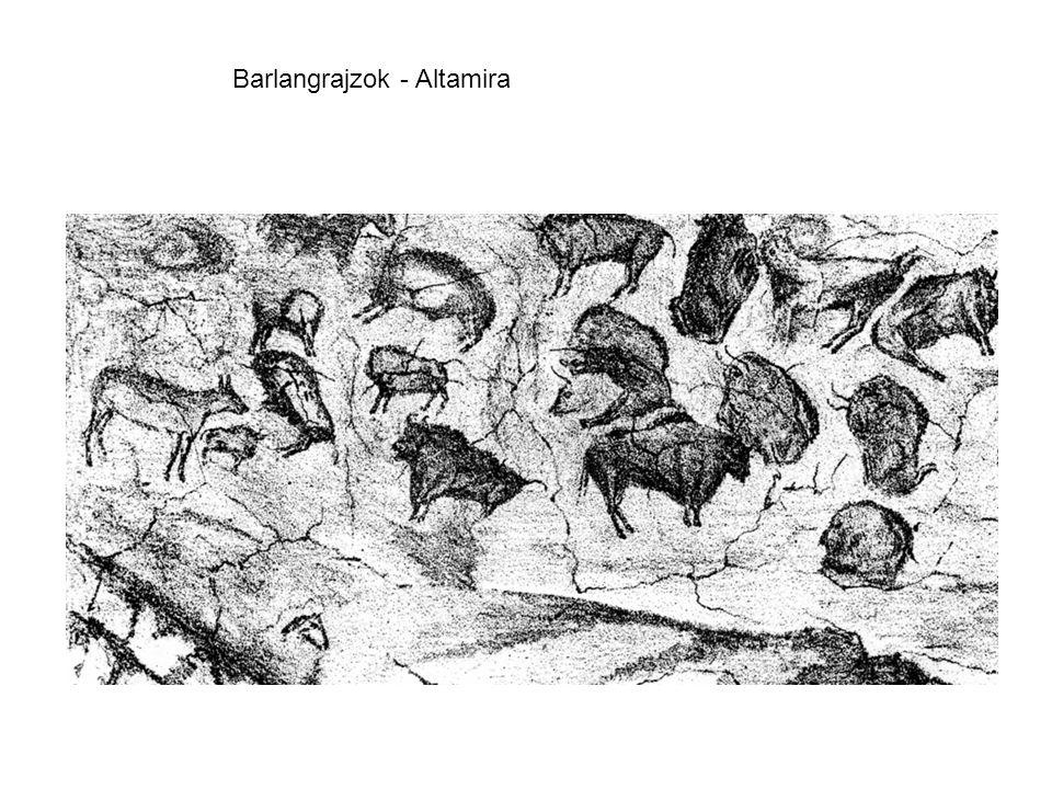 Barlangrajzok - Altamira