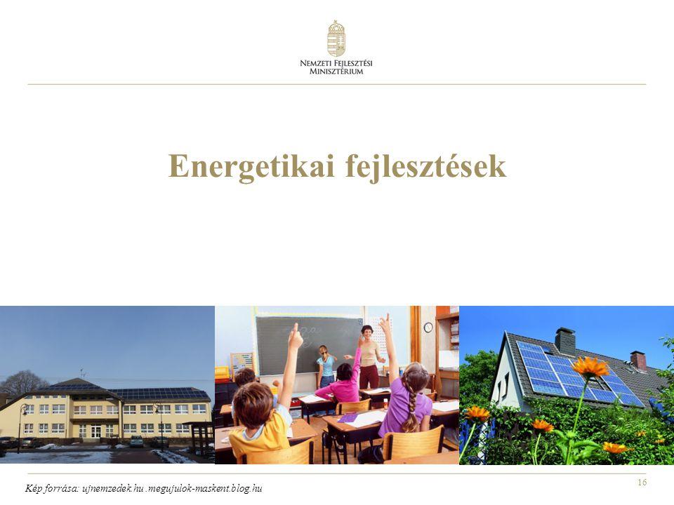Energetikai fejlesztések