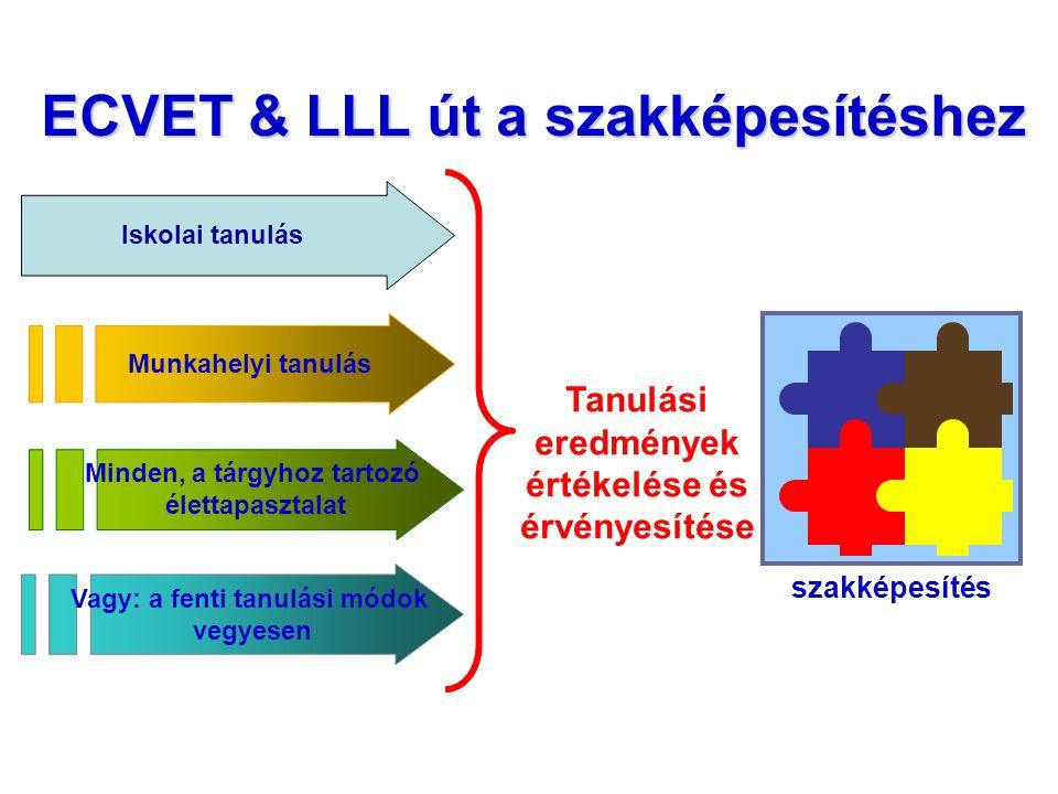 ECVET & LLL út a szakképesítéshez