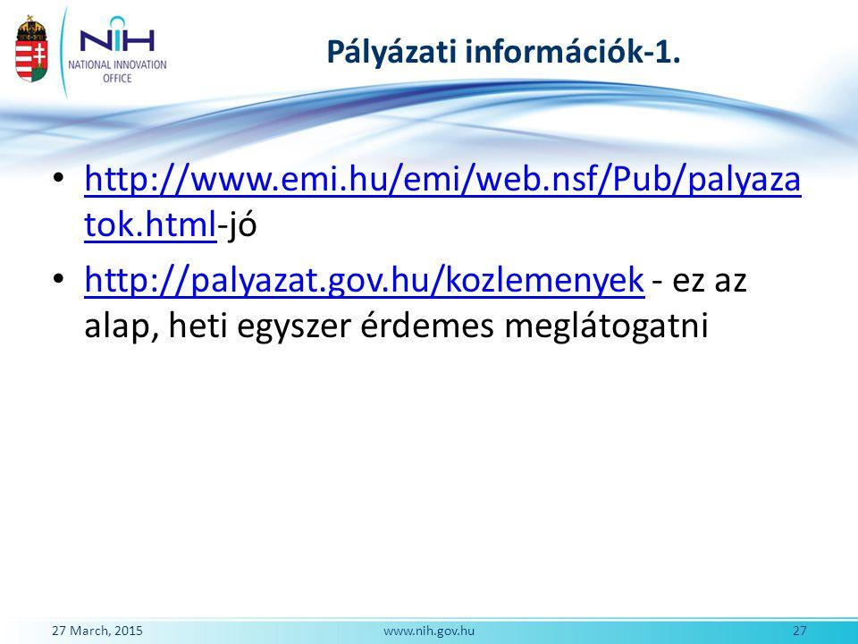 Pályázati információk-1.