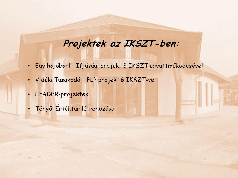 Projektek az IKSZT-ben: