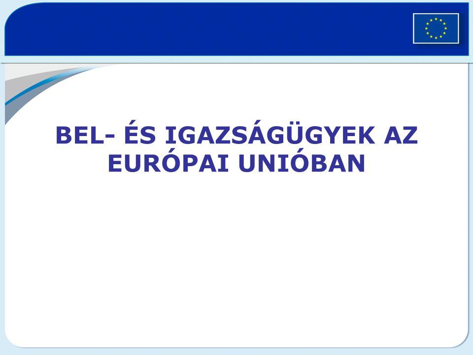 Bel- és igazságügyek az európai unióban