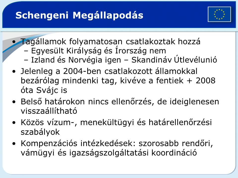 Schengeni Megállapodás