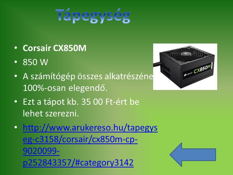 Tápegység Corsair CX850M 850 W