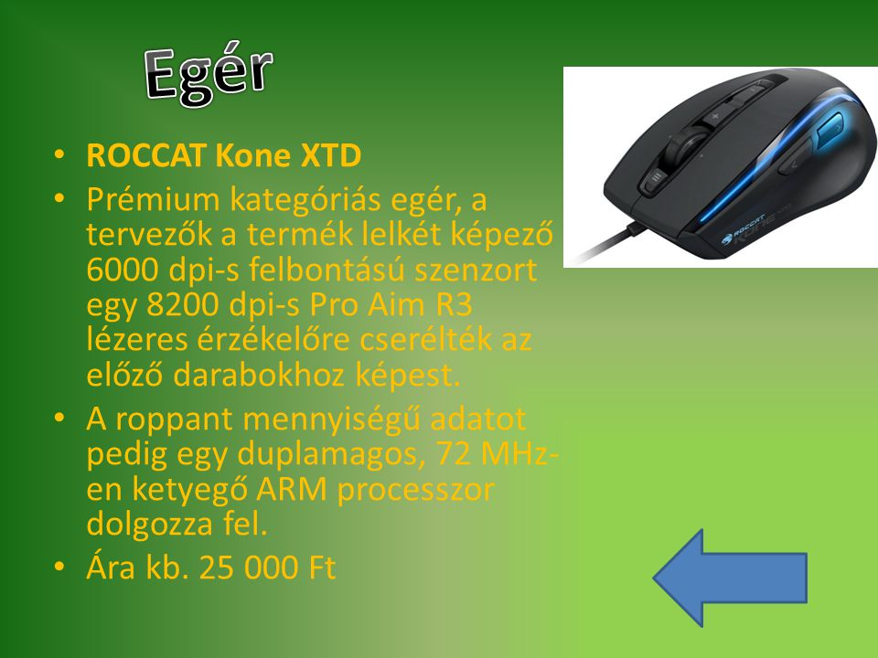 Egér ROCCAT Kone XTD.