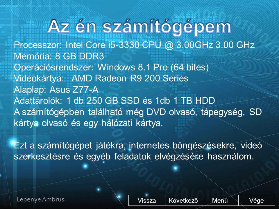 Az én számítógépem