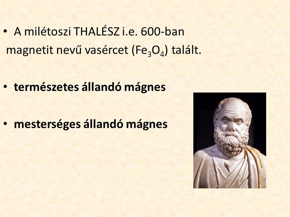 A milétoszi THALÉSZ i.e. 600-ban