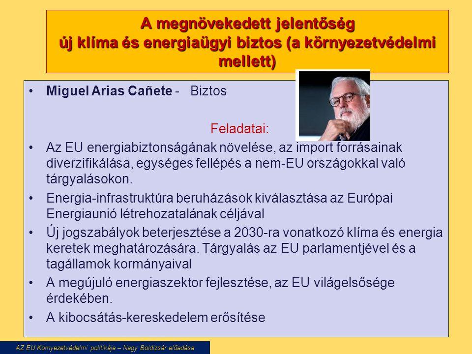 AZ EU Környezetvédelmi politikája – Nagy Boldizsár előadása