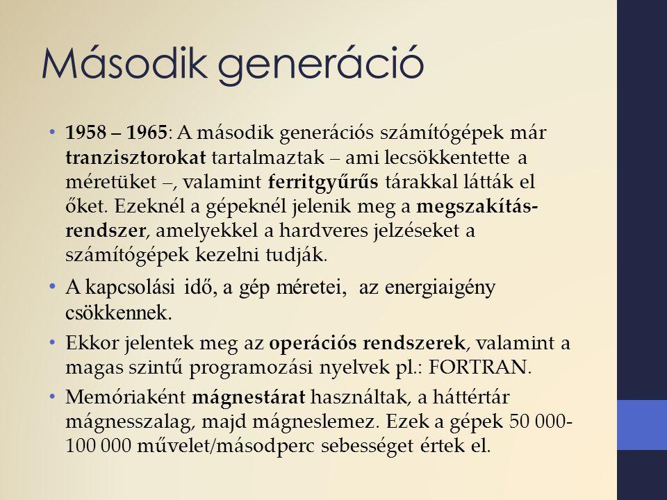 Második generáció