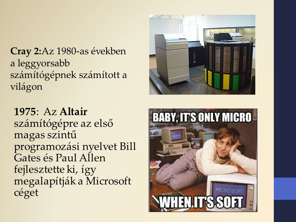 Cray 2:Az 1980-as években a leggyorsabb számítógépnek számított a világon
