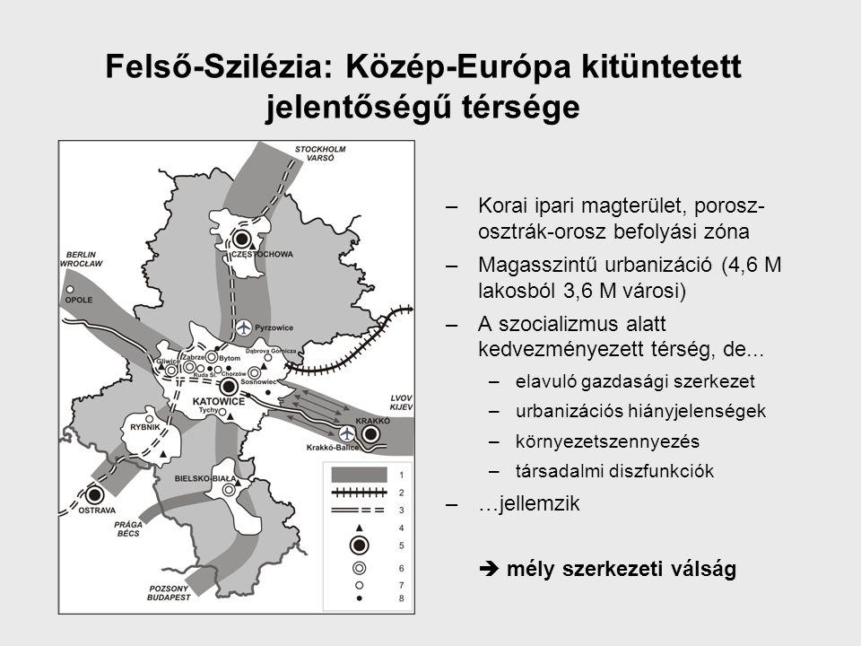 Felső-Szilézia: Közép-Európa kitüntetett jelentőségű térsége