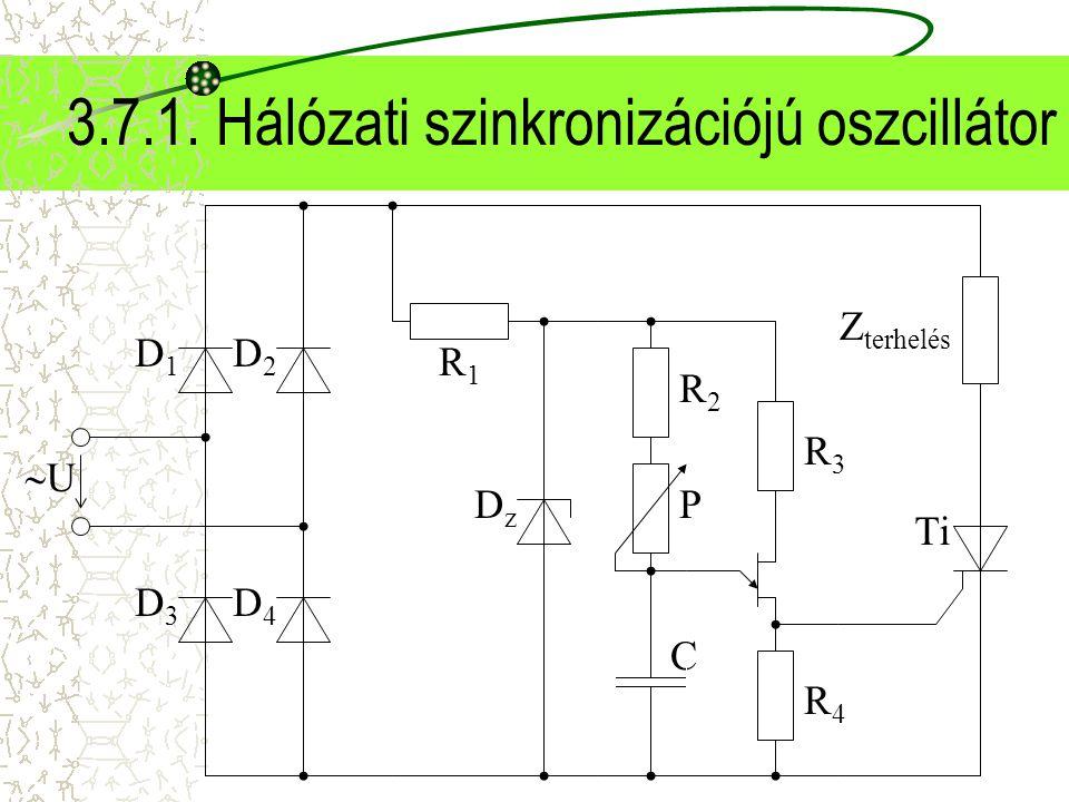 3.7.1. Hálózati szinkronizációjú oszcillátor