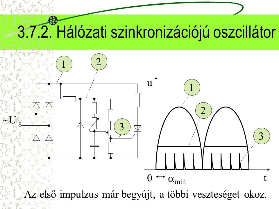 3.7.2. Hálózati szinkronizációjú oszcillátor