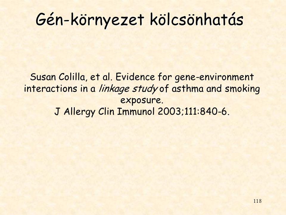 Gén-környezet kölcsönhatás