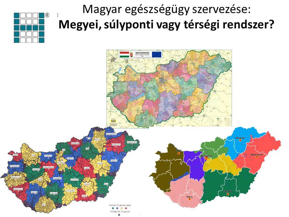 Magyar egészségügy szervezése: Megyei, súlyponti vagy térségi rendszer