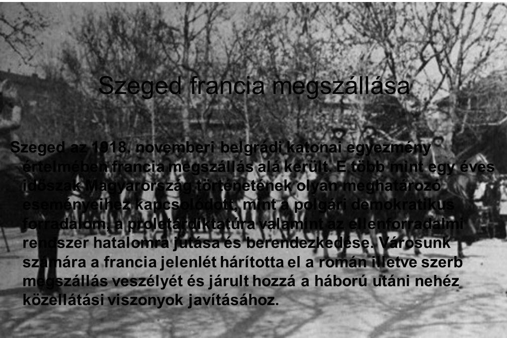 Szeged francia megszállása