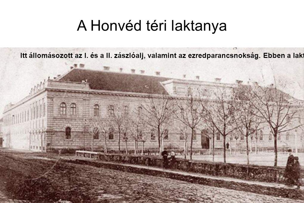 A Honvéd téri laktanya
