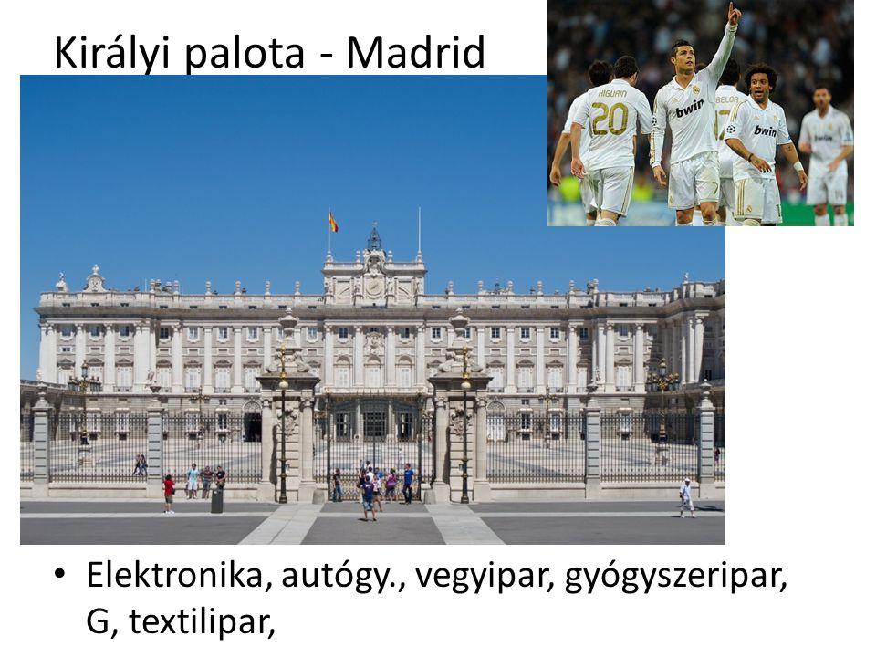 Királyi palota - Madrid