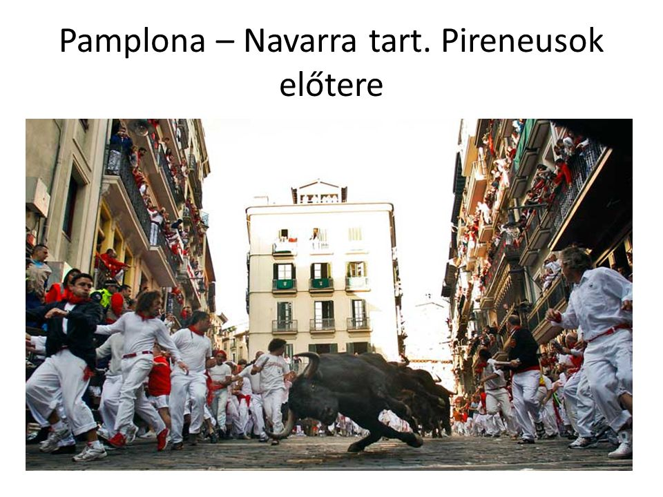 Pamplona – Navarra tart. Pireneusok előtere