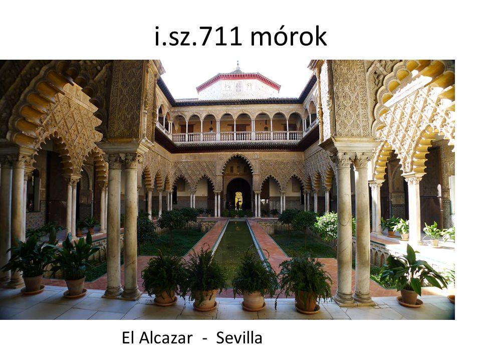 i.sz.711 mórok El Alcazar - Sevilla