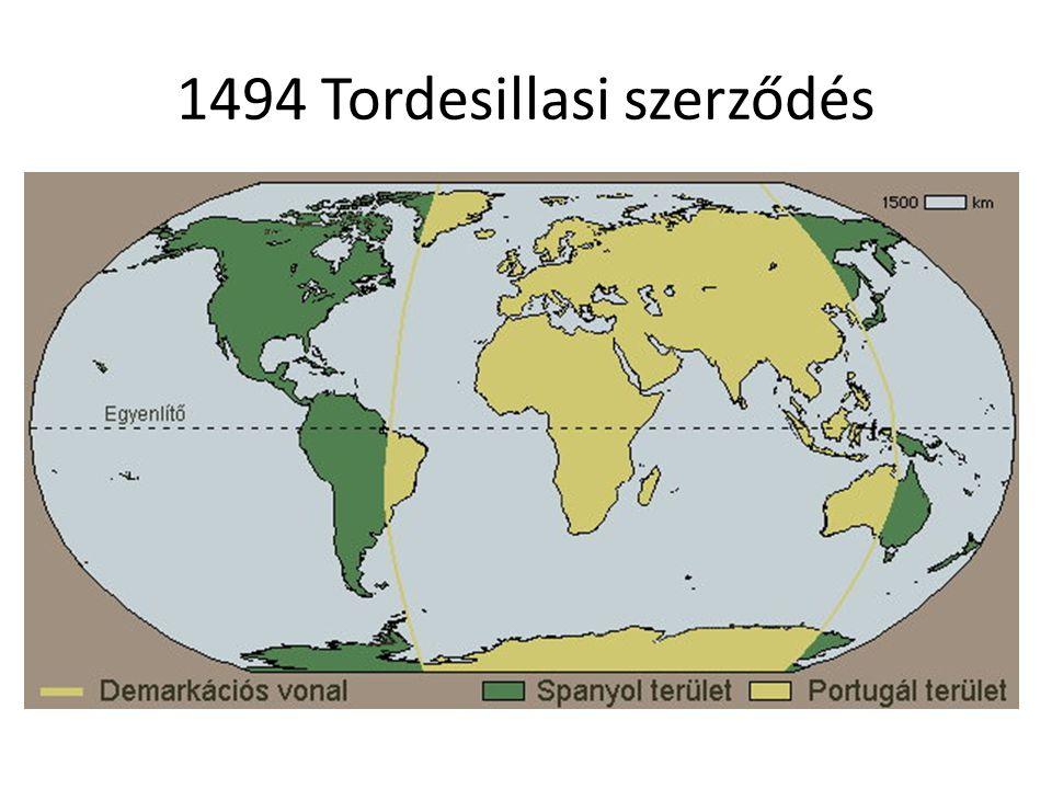 1494 Tordesillasi szerződés