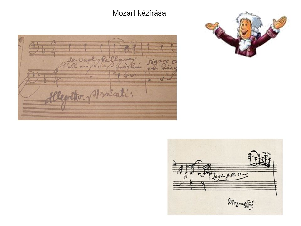 Mozart kézírása