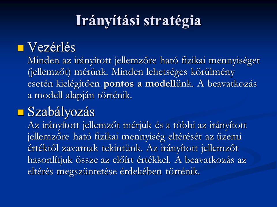 Irányítási stratégia