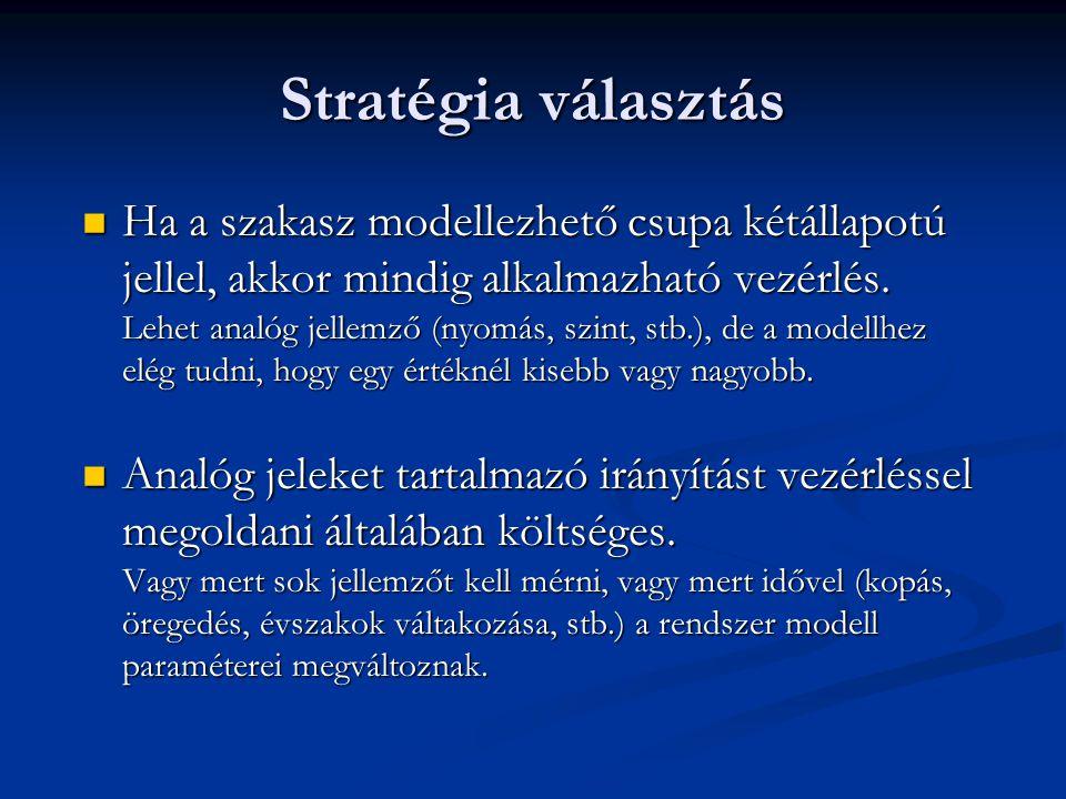 Stratégia választás