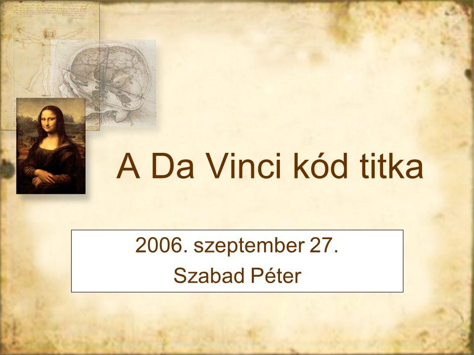 2006. szeptember 27. Szabad Péter