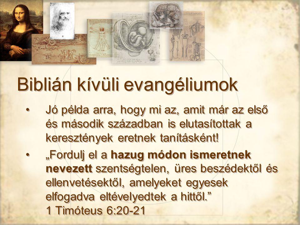 Biblián kívüli evangéliumok
