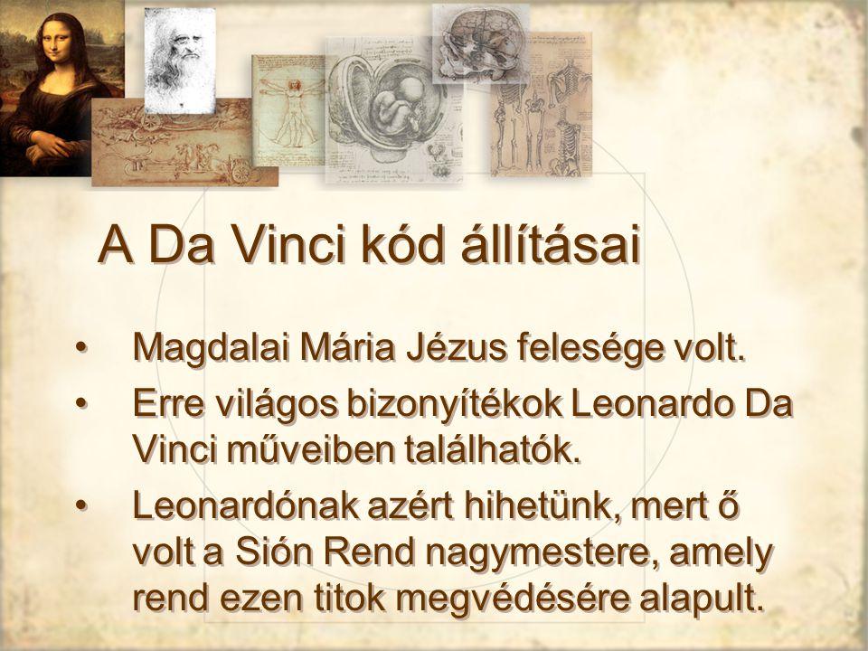 A Da Vinci kód állításai