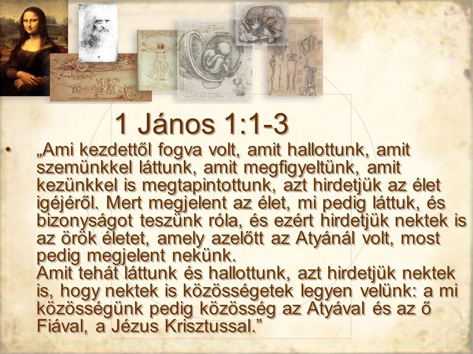 1 János 1:1-3