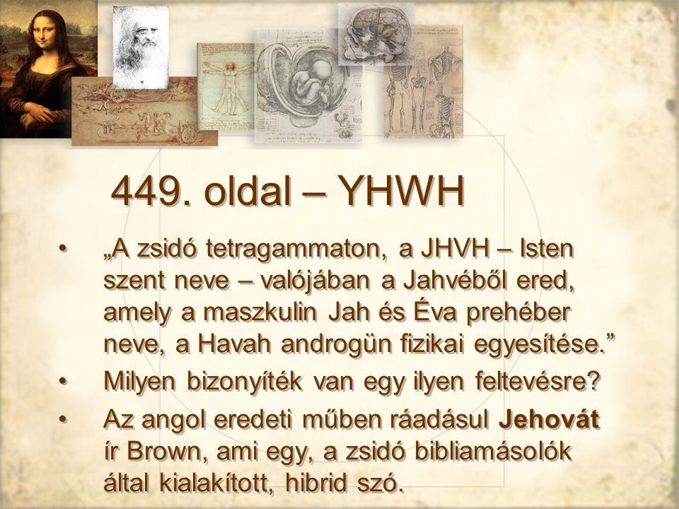 449. oldal – YHWH