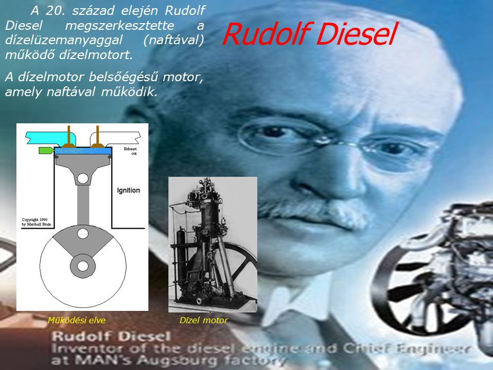 Rudolf Diesel Рудолф Дизел