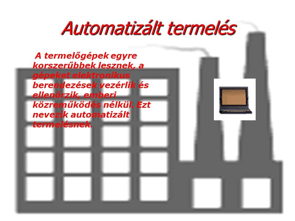 Аutomatizált termelés