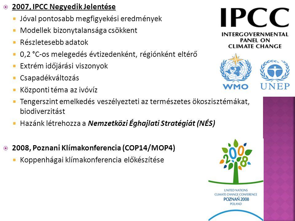 2007, IPCC Negyedik Jelentése