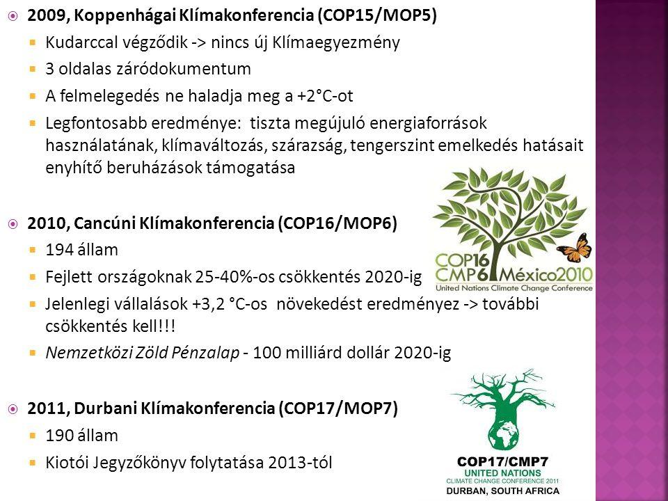 2009, Koppenhágai Klímakonferencia (COP15/MOP5)