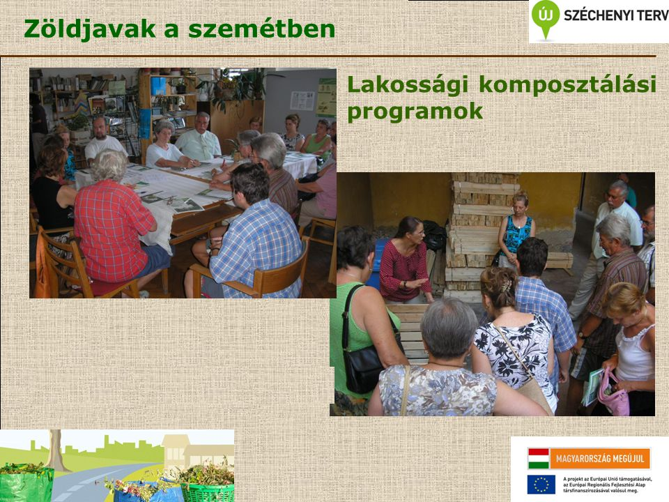 Lakossági komposztálási programok