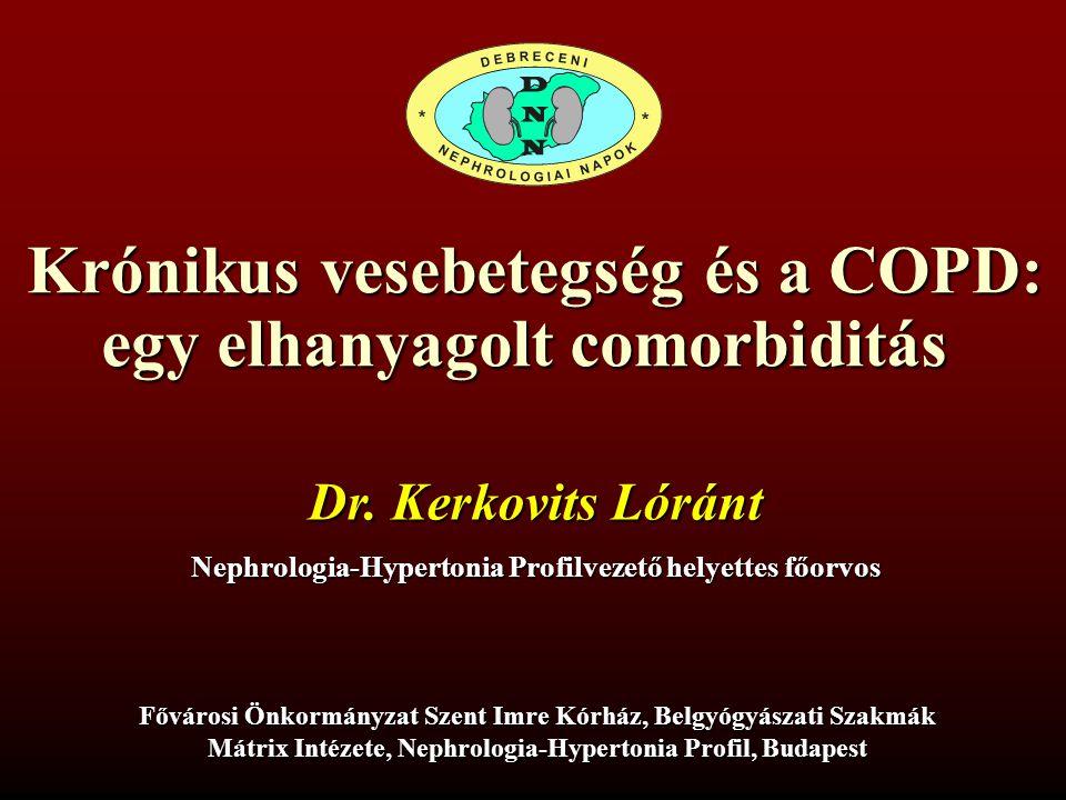 Krónikus vesebetegség és a COPD: egy elhanyagolt comorbiditás