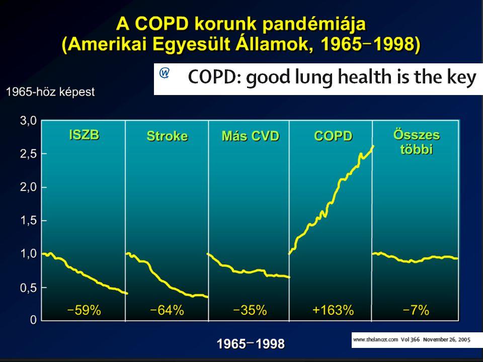 Ez az egyetlen halálok, amelynek az elfordulása növekszik, és a becslések szerint 2030-ra a harmadik leggyakoribb lesz az agyvérzés és a szívinfarktus után.