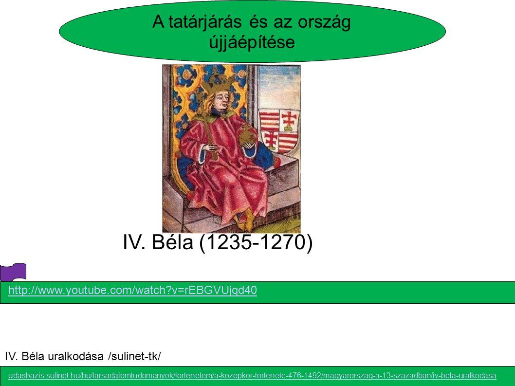 A tatárjárás és az ország újjáépítése