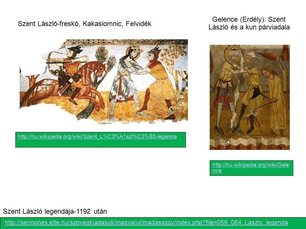 Gelence (Erdély): Szent László és a kun párviadala