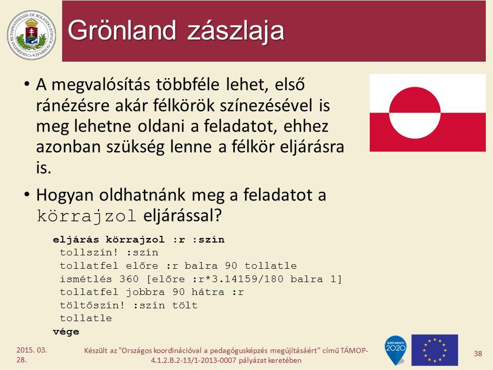 Grönland zászlaja