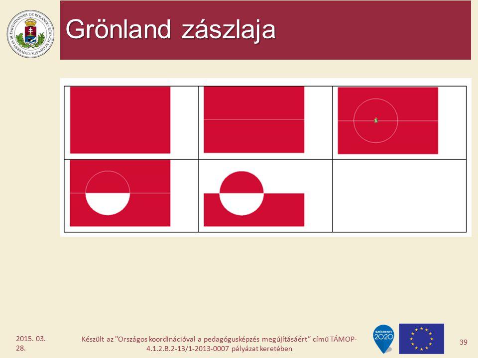 Grönland zászlaja 2017.04.08.